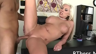 Girl'_s tits and muff fucked