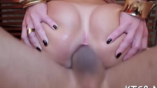 Crazy tranny drilled by her fellow