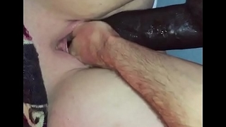 Fist and Giant dildo crammed in me and ripped back out