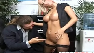 Huge knockers blonde Lichelle Marie