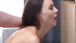 Little Tiny Lily Cat Fucked Deep Near Her Cunt