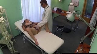 Pov banged euro gets screwed by her doctor