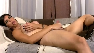 FULL video be expeditious for Hardcore masturbating shemale with round boobs